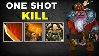 One Hit Giant Sniper | Dota 2 Ability Draft