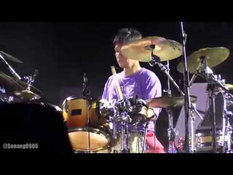 Krakatau Reunion - La Samba Primadona ~ Drum Solo @ Prambanan Jazz 2016 [HD]