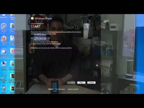 Connecting your HTC HD7 to your computer