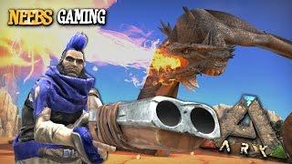 Ark: Survival Evolved - Dragon Experiment!!!