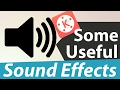 How To Add Sound Effect On Videos Using Android Some Useful Sound Effects mp3