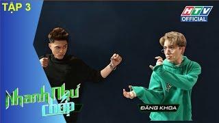 HTV NHANH NHƯ CHỚP | Trường Giang - Xuân Nghị gợi ý bài hát mới cho Châu Đăng Khoa | NNC #3 FULL
