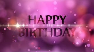 download lagu Happy Birthday - Motion Graphics Background - Light And gratis