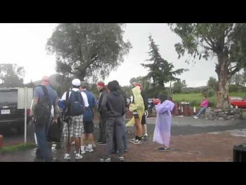 James Hetfield y su familia visitan Teotihuacán