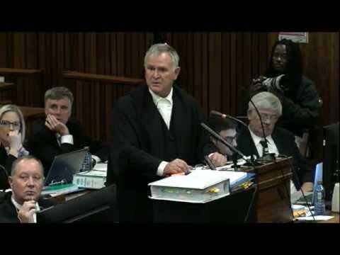 Oscar Pistorius Trial: Tuesday 15 April 2014, Session 3