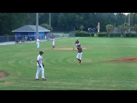 American Legion Post 88 vs Post 5 Florida Dist Tourney 7 24 15
