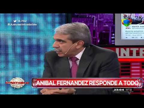 Aníbal Fernández criticó con dureza el allanamiento a Víctor Hugo