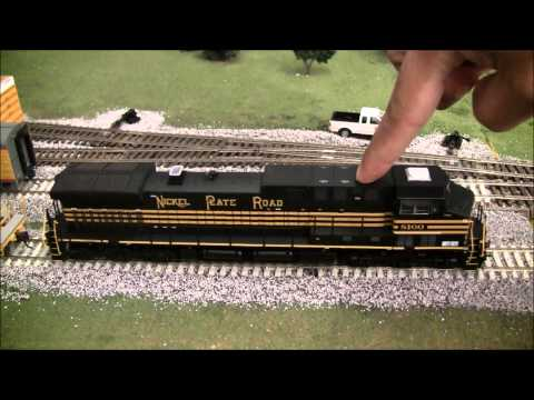 Athearn AC4400 Norfolk Southern Heritage review in HO scale