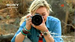 Sony A55 commercial TV