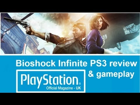 Bioshock Infinite PS3 gameplay & video review