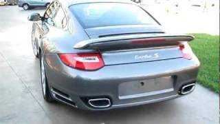 Porsche Turbo S & Cayman S Sound