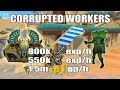 [Runescape 3] Corrupted Workers Guide | Corrupted Creatures | 800k Melee exp/h | 550k Slayer exp/h