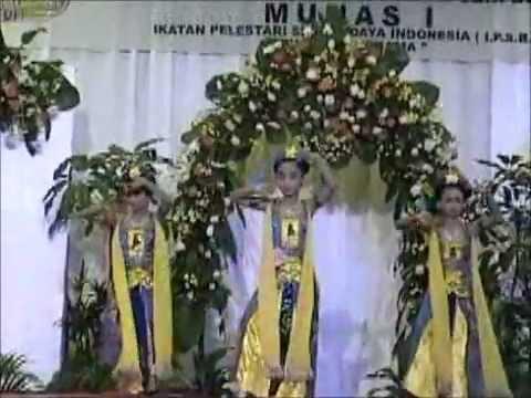 Alifa Alma Adlina - Festival Tari Daerah Anak Nasional (banjar Kemuning) - 2007 video