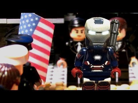Iron Man 3 Trailer #1:  IN LEGO