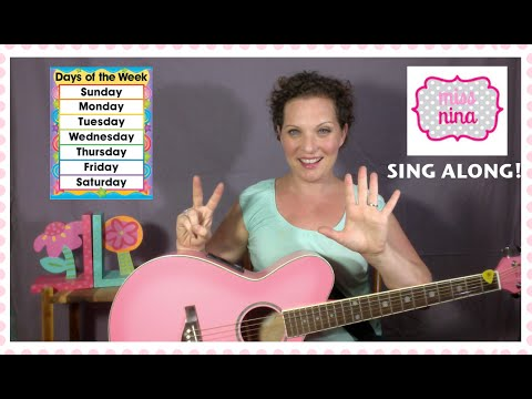 Childrens Song: There Are 7 Days In A Week