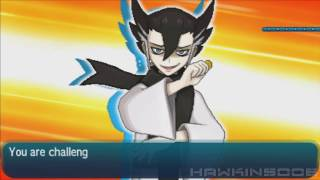 Pokemon Moon - Battle Tree VS Grimsley