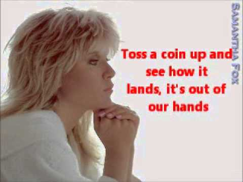 Samantha Fox - Out Of Our Hands