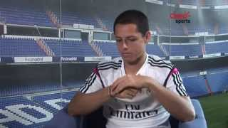 Entrevista a Chicharito Hernández (Real Madrid)