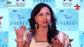 Kishore Shahane talks about her character Sarita Singh Rawat in EVEREST
