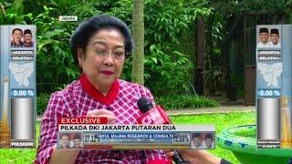 Eksklusif! Megawati Bicara Soal Pilkada DKI Jakarta
