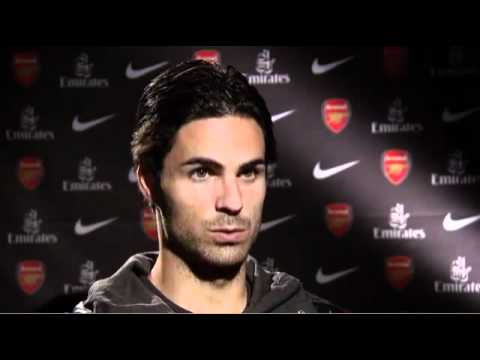 Mikel Arteta's First Interview