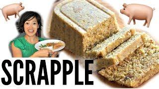 SCRAPPLE - pork scraps cornmeal mush | Breakfast: PENNSYLVANIA