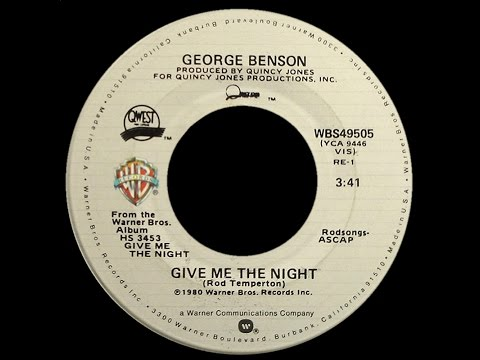 George Benson ~ Give Me The Night 1980 Disco Purrfection Version