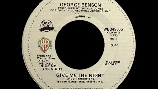 George Benson Give Me The Night 1980 Disco Purrfection Version
