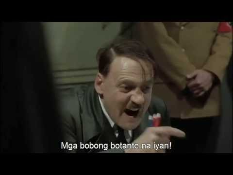 Reaksyon ni Hitler sa pagpanalo ni Nancy Binay