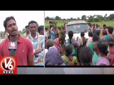 Cattle Robbers Beaten By Villagers In Bhadradri Kothagudem District | V6 News