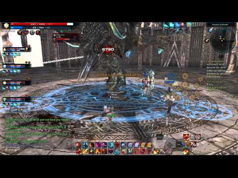 Tera Online Cultist's Refuge 3rd Boss Berserker Gameplay