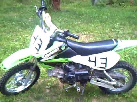 Kawasaki klx 110 Video