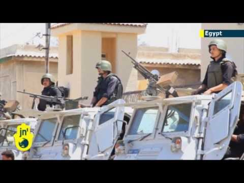 Sinai Islamist Insurgency: Bodies of 25 policemen killed in Sinai jihadi attack are flown to Cairo