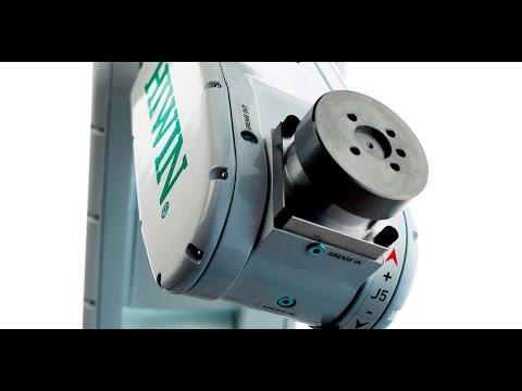 Robô Articulado HIWIN MECTROL RA605 – Exemplo de Aplicação – Embalagens