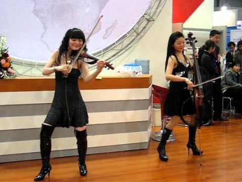 Electric Violin performance - China - 18.8KB