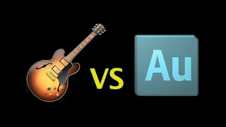 Adobe Audition vs GarageBand Sound Test