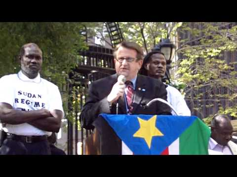 Sudan Regime Change Rally:  Bruce Knotts