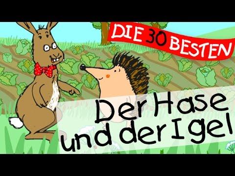 Lass uns um die Wette laufen (Der Hase und der Igel) - Märchenlieder zum Mitsingen || Kinderlieder)