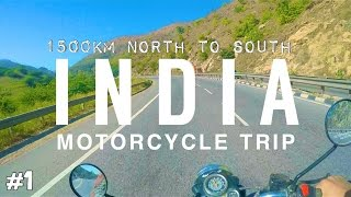 Motorbike Trip North to South India Pt. 1 (Deadly Accident)