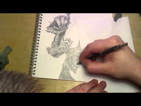♦ Zooc Draws - Hot Armored Elf Chick