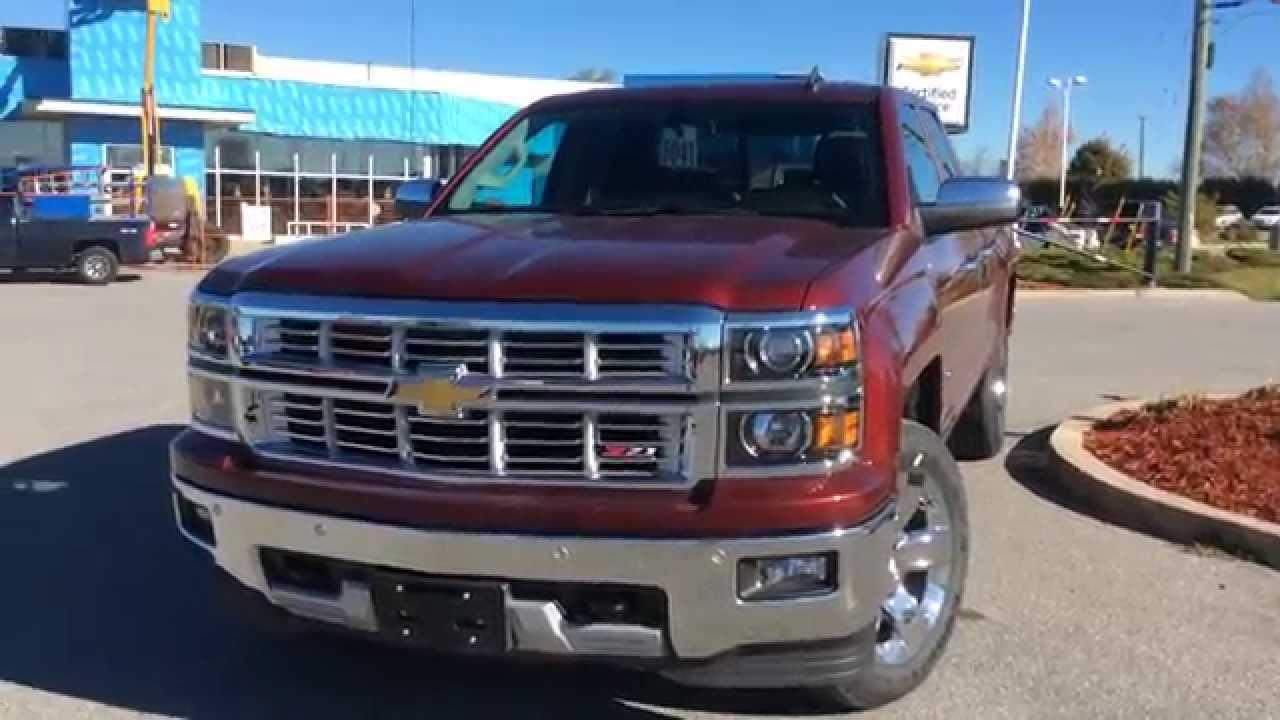 2015 Chevrolet Silverado 1500 4wd Double Cab 143 5 Quot Ltz W