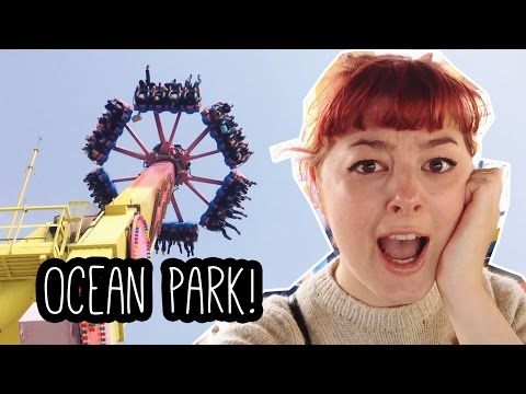 Ocean Park! Hong Kong Travel Vlog #4