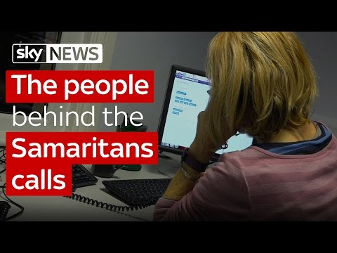 The people behind the Samaritans calls