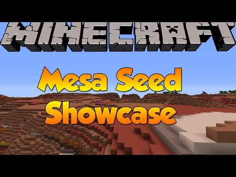 SPAWN IN A MESA BIOME SEED!   Minecraft 1.7.4 World Seeds