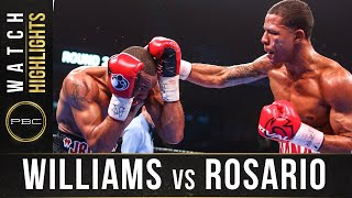 Williams vs Rosario HIGHLIGHTS: January 18, 2020 | PBC onFOX