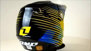 One Industries Atom Helmet Fragment Yellow - 360° Video