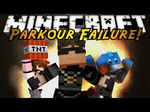 Minecraft: Parkour FAILURE!