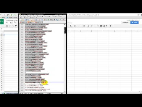 How to send bulk mail using mail merge from a gmail account.