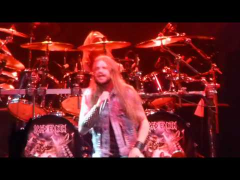 Iced Earth - Burning Times @ City National Grove of Anaheim, CA, 7-10-2012