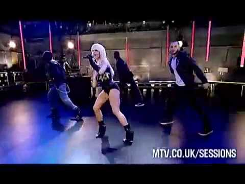 Lady GaGa - Poker Face (Live @ MTV Sessions) Music Videos